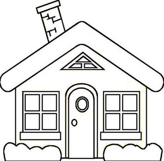Dibujos De Casas Faciles Dibujos De Casas Infantiles Dibujo De Casa Casas De Carton Manualidades