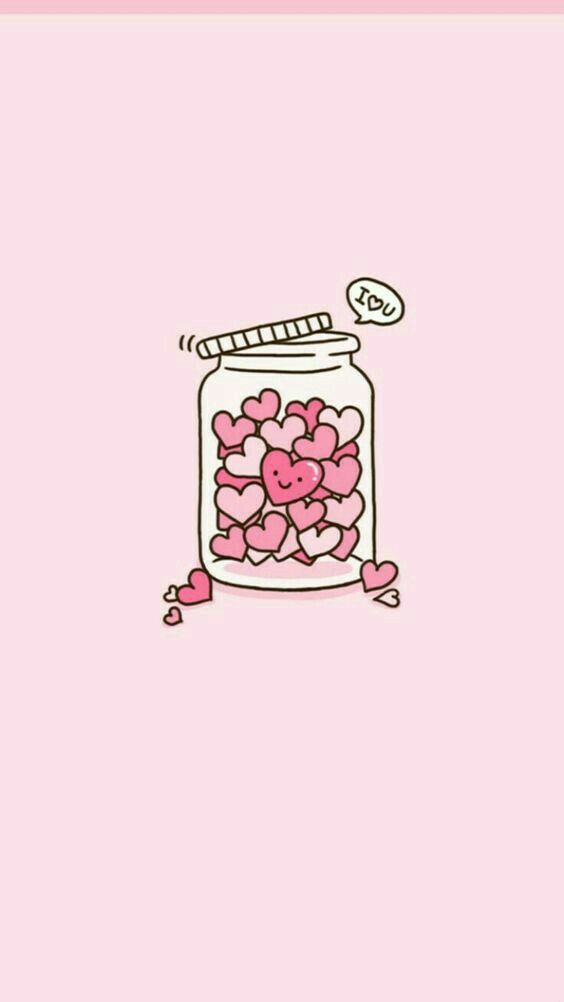 Love Wallpaper Wallpaper Iphone Cute Kawaii Wallpaper Pink