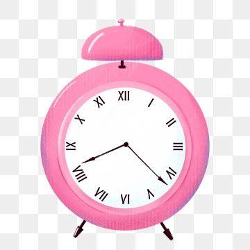 Pink Clock Cartoon Clock Hand Painted Clock Watch Decoration Clock Clipart Clock Illustration Beautiful Clock Png Transparent Clipart Image And Psd File For Pink Clocks Clock Painting Clock Clipart