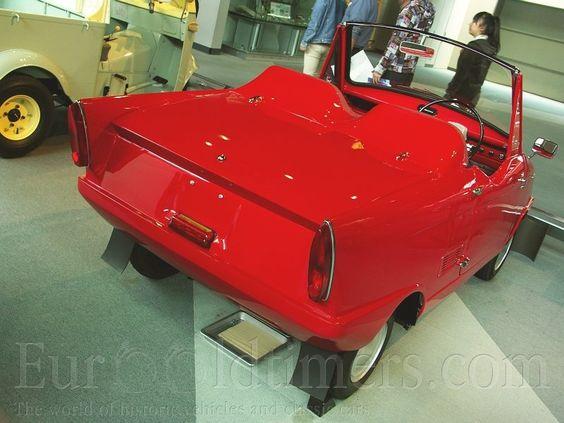 (1962) Cony Guppy Sport AF8 | Gallery | Veteráni i veterán - Oldtimers - Historická vozidla
