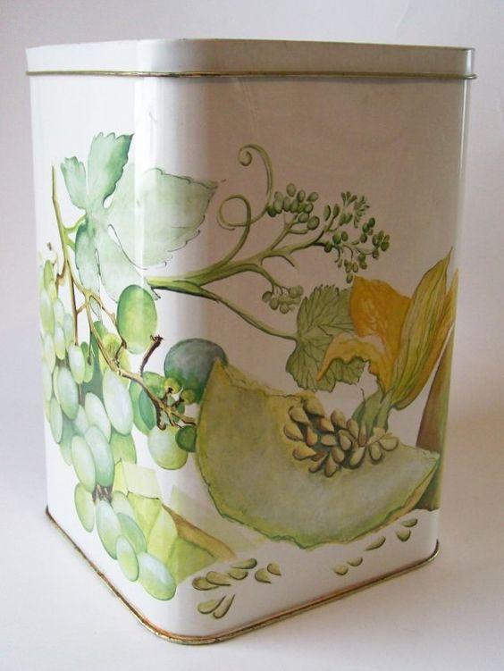 Tea Tins Tins And English On Pinterest