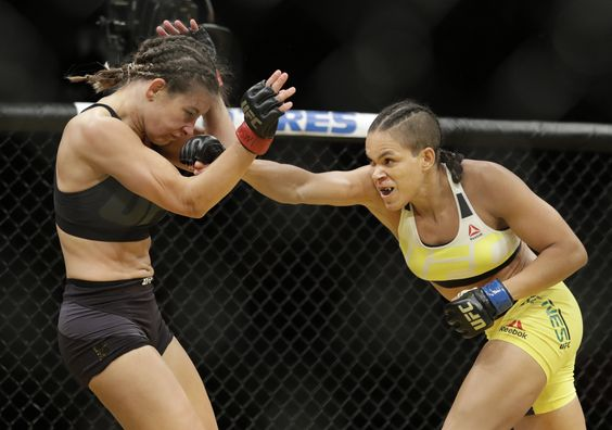 7 pictures from Amanda Nunes' stunning UFC 200 win over Miesha Tate | For The Win
