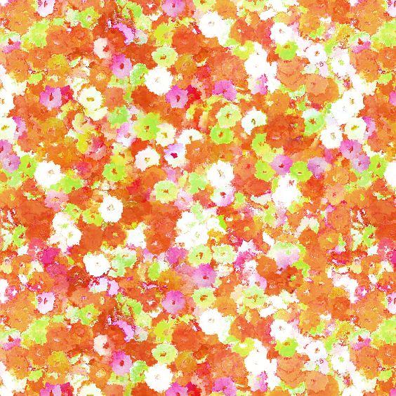 Estampa Mini Floral - por Patrícia Capella http://patriciacapella.com/mini_floral.php
