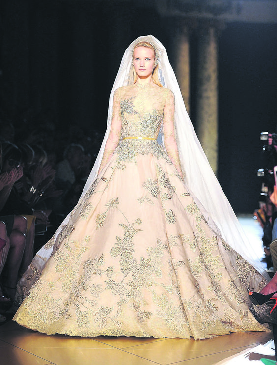 Elie saab bridal gowns pinterest wedding designer for French couture