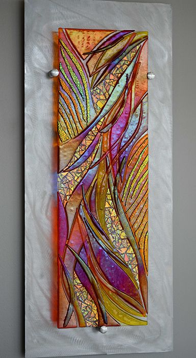Fused Glass Wall Art, Fused Glass Artwork Wall