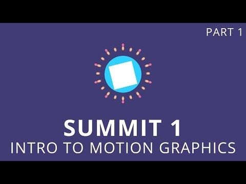 Summit 1.1 - Intro to Motion Graphics - After Effects - YouTube
