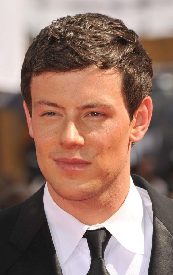 Cory Monteith's Scissor Cut Hairstyle