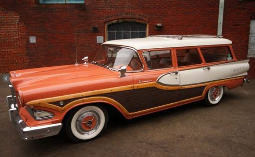 A 160 Pieces Jigsaw Puzzle From Jigidi In 2020 Edsel Station Wagons For Sale Station Wagon