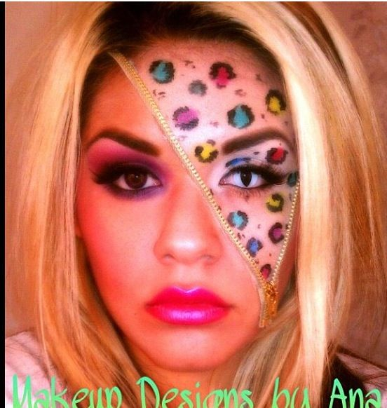 Crazy Halloween Decorations: Crazy Halloween Makeup #eyecandycosmetics