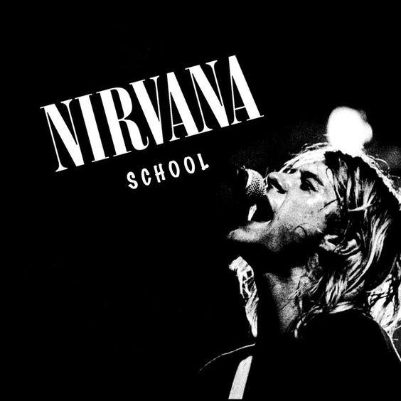 Nirvana – School (single cover art)