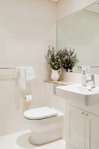 Shower room toilet/vanity layout  Provincial Kitchens Sydney