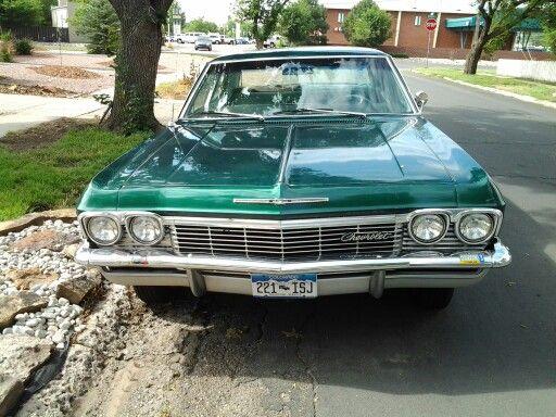 1965 Chevy Impala. 283 engine automatic 4 door. Original owner. 80,000 miles.