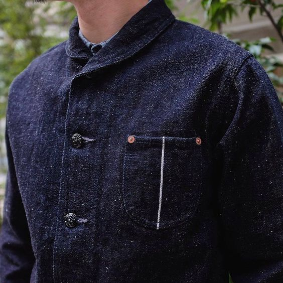 Studio D'Artisan just made repping #SelvedgeSunday this week a lot easier with the drop of this USM inspired 16oz. Nep Selvedge Shawl Collar Tailored Jacket! http://ift.tt/2eDmzJu