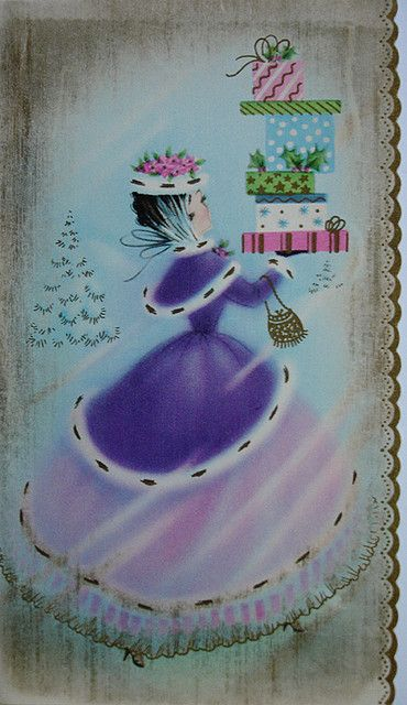 early 1960s Christmas card