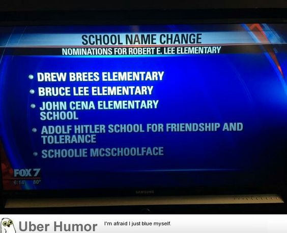 School Name Change Nominations