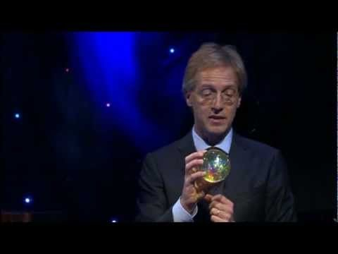 Prof.Robbert Dijkgraaf - Het Allerkleinste (na de show) - YouTube