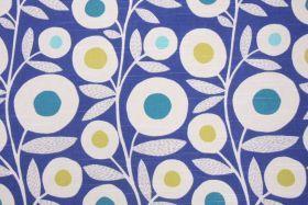 Richloom Ingrid Slubbed Cotton Drapery Fabric in Baltic $10.95 per yard - Fabric Guru.com