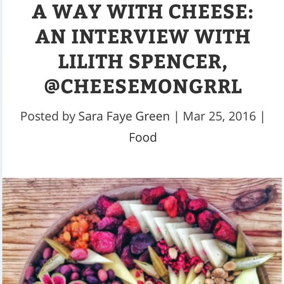 I interviewed 2016 Cheesemonger Invitational Champion @cheesemongrrl about her supernaturally gorgeous cheese platters for @actualpants. Special thanks to #mastermind @amysmcd It was #superfun Link: http://ift.tt/1T9YhVN  #cheese #dates #bourbon #boozybaking #food #slowfood #rawmilk #college #karaoke #tinyhouse #cheeseplates #breakingrules #dowhatyouwant #dayjobs #edibleflowers #cheesepairings #olives #moonshine #santafe #miso #sesame #farmersmarket #salami #bresaola #alpinecheese…
