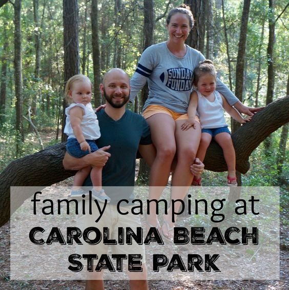 our camping trip to Carolina Beach with a 1 and 3 year old
