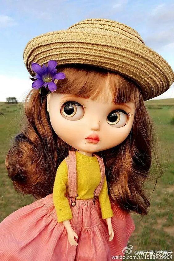 Dieser muss so gemalt-Custom Blythe Puppe kleinen von Faybubble