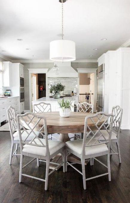 Breakfast Nook Colors Round Tables 25 Trendy Ideas Breakfast
