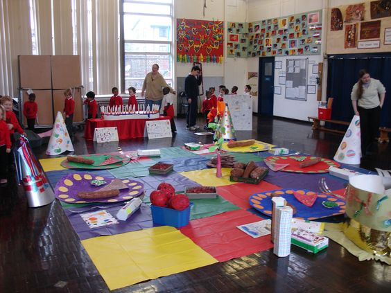 Whole school Giant Maths day - creating a Giants picnic using ...