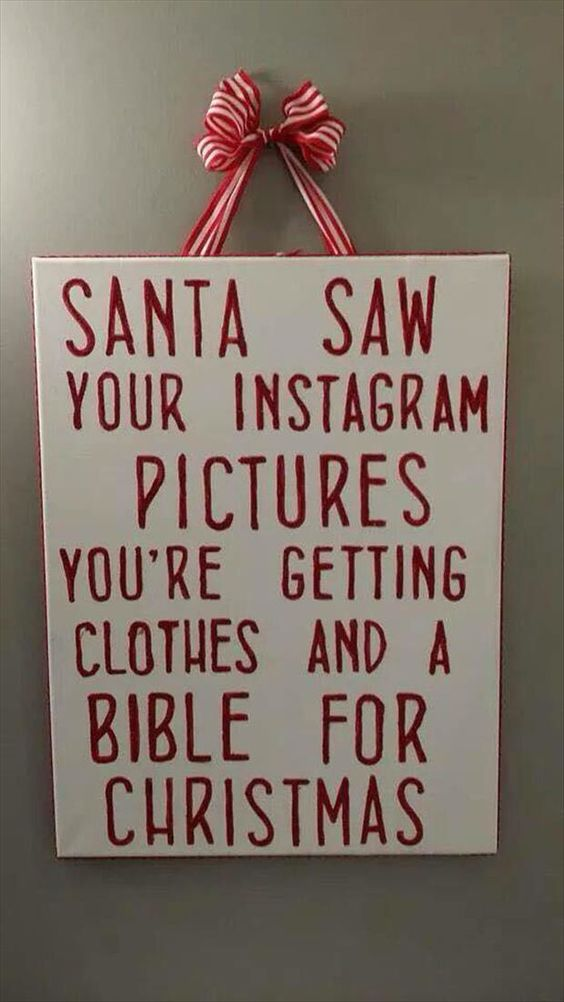It on Pinterest. You've been naughty