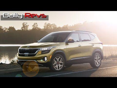 2021 Kia Seltos Lx Awd Introduction Driving Interiors Exteriors Previewed Youtube Kia Black Wheels Headlamp Design