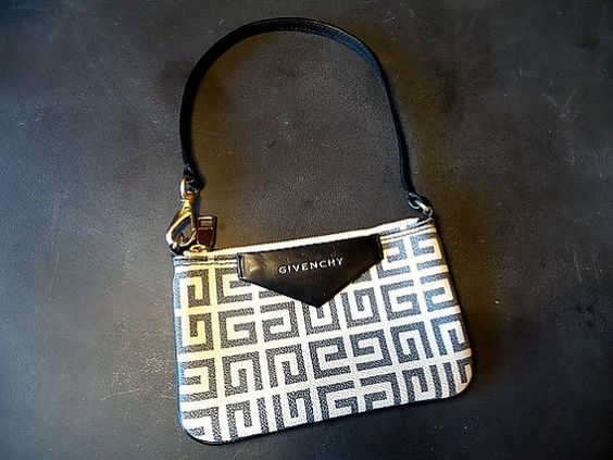 Authentic Vintage Givenchy Monogram Purse. Rare by CabArtVintage