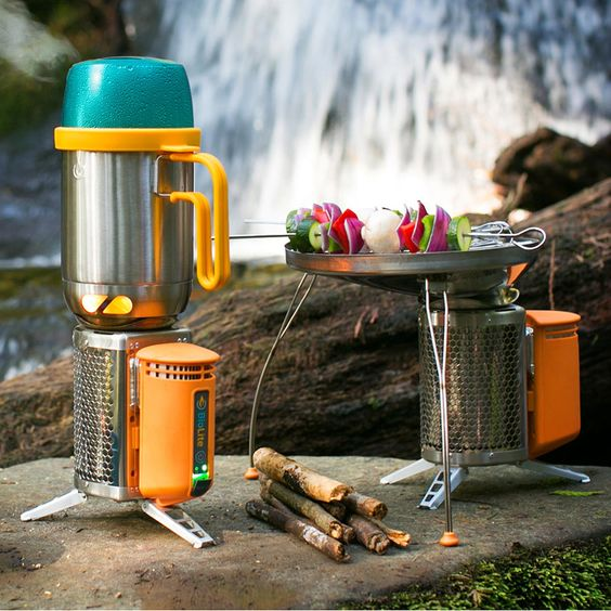 Portable Camp Grill and Charger