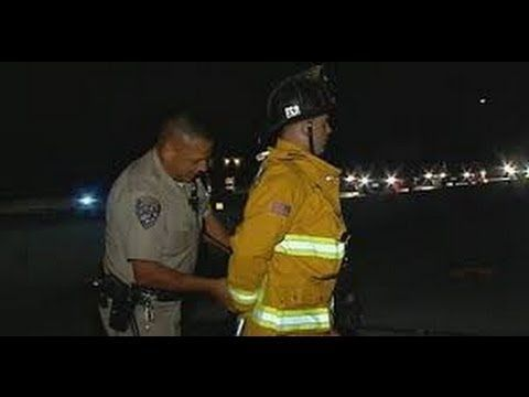 Cop Cuffs Firefighter Who Was Helping Crash Victims CHP OFFICER ORDERED FIREFIGHTER TO MOVE TRUCK