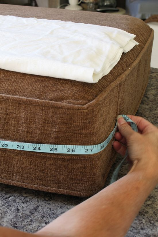 How to Make a Sectional Slipcover Part 2: Cushion Covers