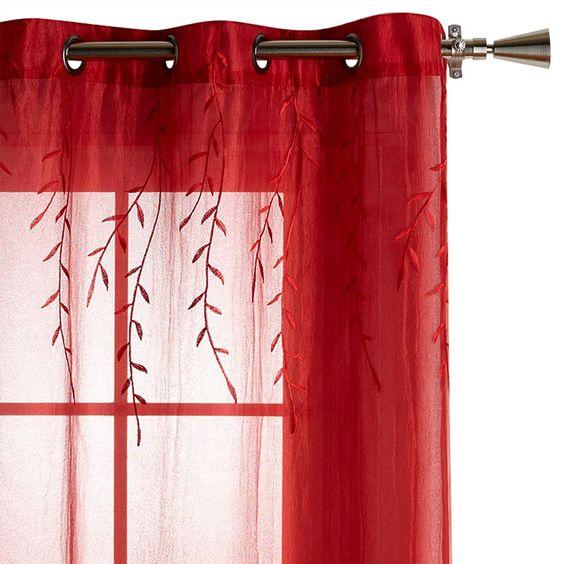 Collection designer - rideau voilage Howard - longueur 84 po/TOILE ...