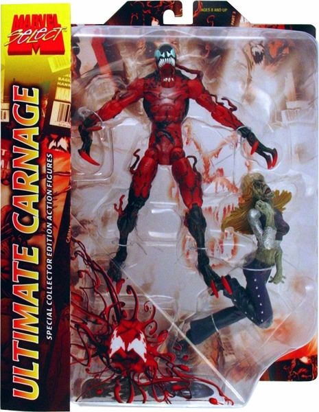 marvel select ultimate carnage action figure action