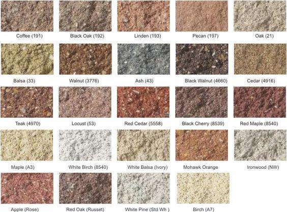 Colors Concrete Blocks And Tables On Pinterest