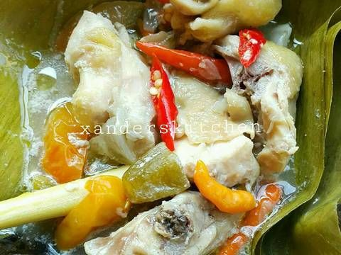 Resep Garang Asem Ayam Kampung Pr Masakanbungkusdaun Oleh Xander S Kitchen Resep Resep Resep Masakan Masakan