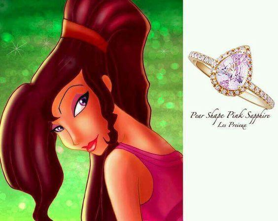 Hercules inspired ring