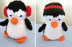 Penguins   AllFreeCrochet.com
