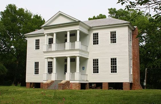 Borden Oaks Plantation in Greensboro in Hala County, Alabama. It was built 1835-37