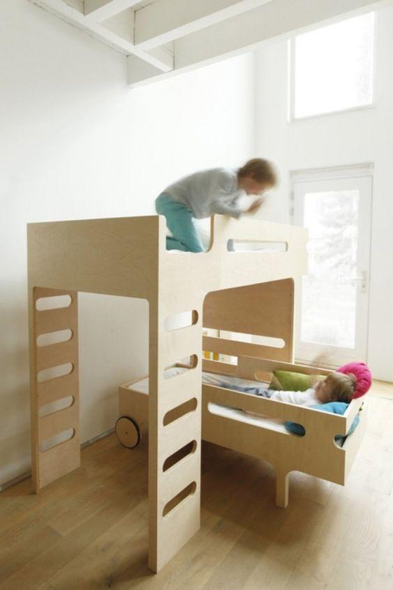 moderne etagenbettt