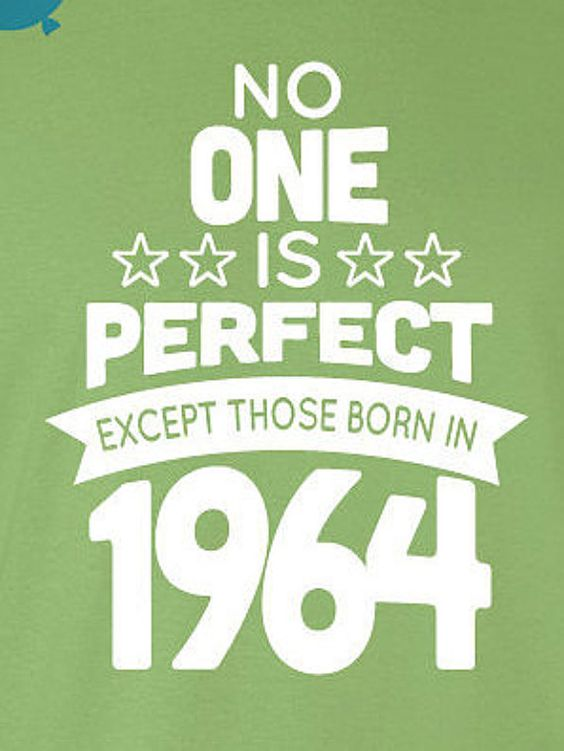 52 Year Old Birthday Shirt No One is Perfect by BirthdayBashTees