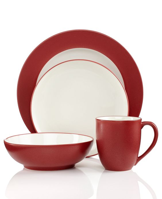 Add a bit of colour to your cupboards! Noritake Colorwave Raspberry Collection - Fine China - Macy's Wedding Registry