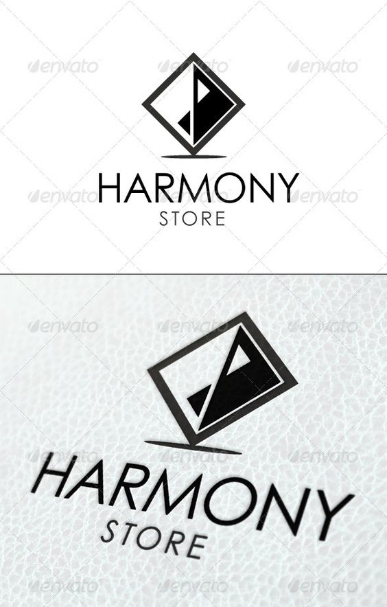 Harmony Store Logo Template: