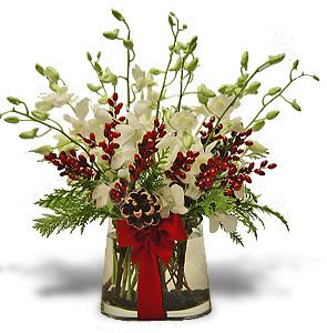 Pinterest the world s catalog of ideas Christmas orchid arrangements