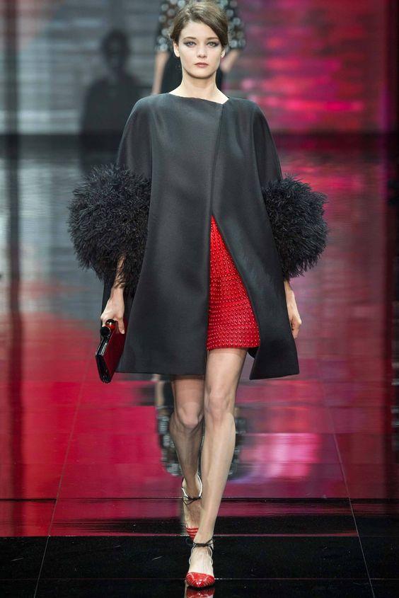 Armani Privé Haute Couture fall 2014 collection