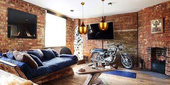 Como+ter+decoração+com+tijolinho+em+casa
