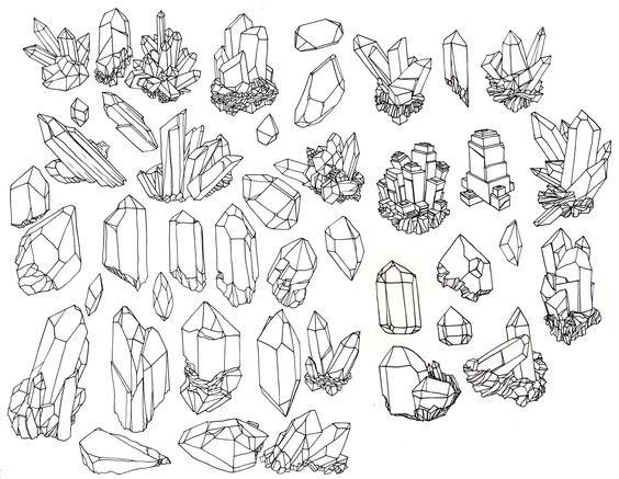 vintage crystal illustration - Google Search
