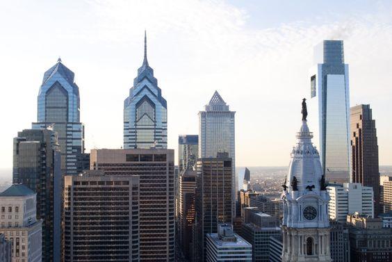 philadelphia skyline - Google Search