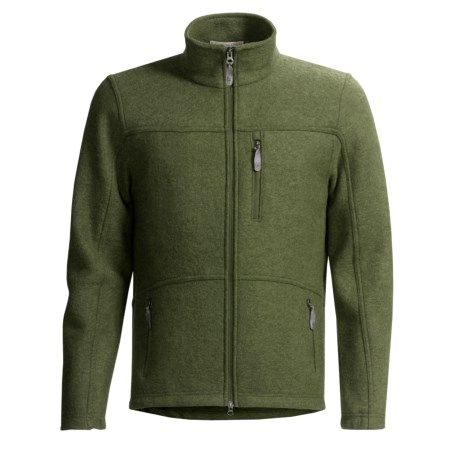 Ibex Guapo Loden Wool Jacket (For Men))