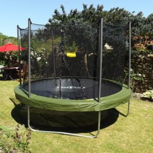 Super Tramp 12ft Super Flyer MK3 Trampoline Package
